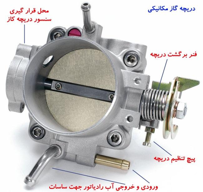 سنسور دریچه گاز چیست ؟